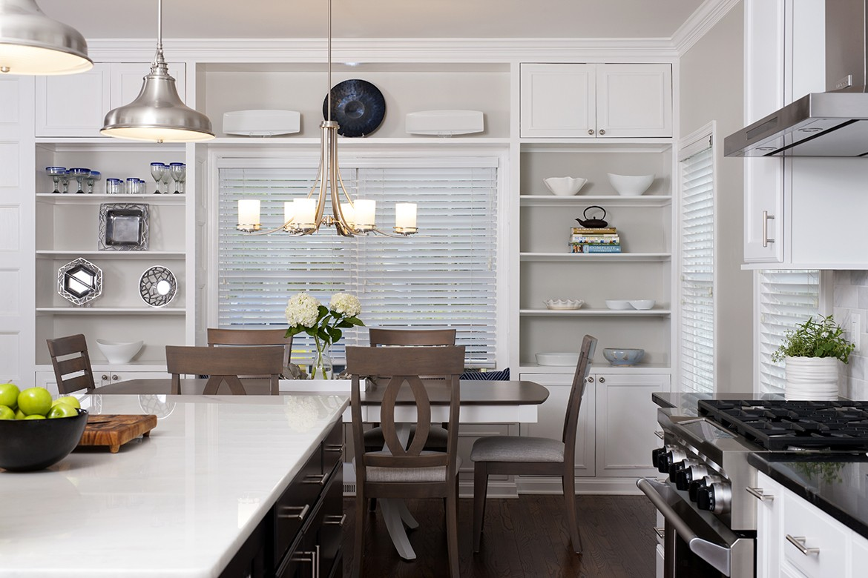 Classic kitchen remodel in arlington va kitchen for Kitchen remodeling arlington va