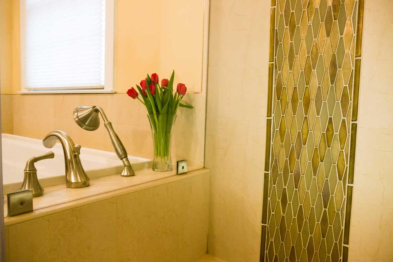 Master bath remodel in falls church va bathroom remodel washington dc for Bathroom remodeler falls church va