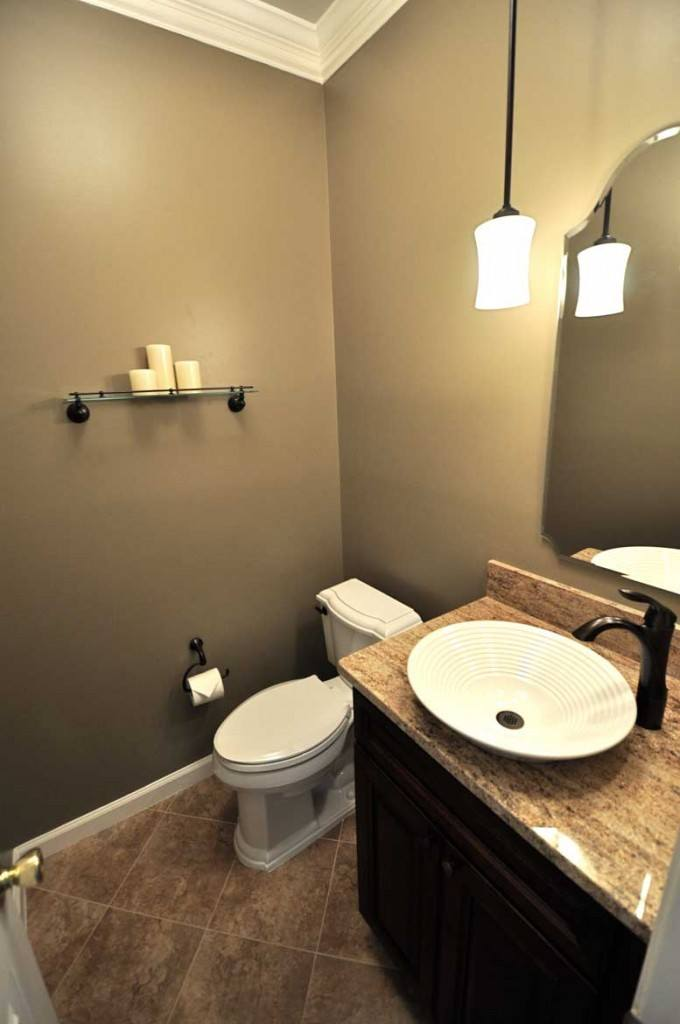Hall bathroom remodel in Northern VA, MD, DC; powder room