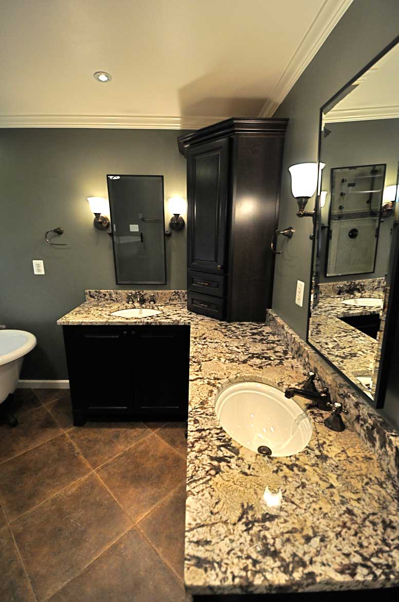master bathroom remodel in centreville va bathroom
