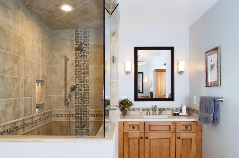 Bathroom remodel in herndon va traditional bathroom for Bathroom remodeling northern virginia