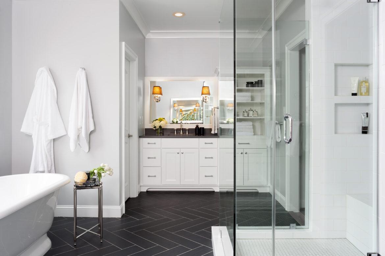 Master Bathroom Remodel In Oakton Va Closet Remodeling Northern Va