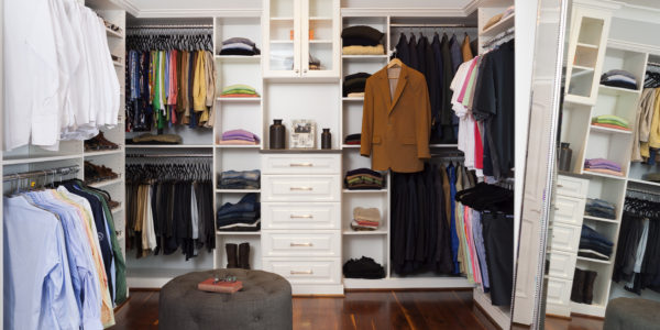 Luxury walk-in closet remodel in Northern VA, MD, DC