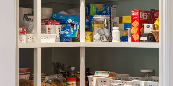 Kitchen remodeling in Northern VA, DC, MD, oversized pantry, walk-in pantry, extra storage